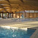 Piscine couverte et bassins chauffés