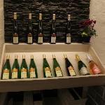 présentoir à vins