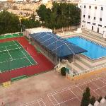 Pool & Tennis court