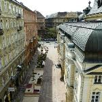 View from room at NH Hotel Budapest