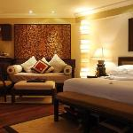 Artistic Bali Style Club Room