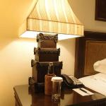 Artistic Bali Style Club Room-bedside lamp
