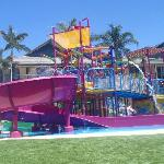 Large water playground