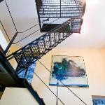 Innenansicht Turmtreppe