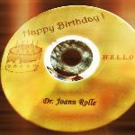 Over the top customer service - my personal Birthday CD from Rashid