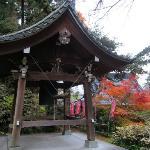 蓮華寺の釣鐘堂