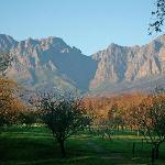 Blick auf die Hottentot Berge