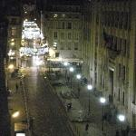 The view from the terrace at night