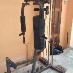 The gym hahaha!!!!