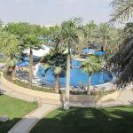 View of pool from 2nd floor room balcony