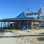 Bar/restaurant on the beach