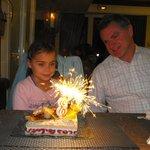 Verjaardag van onze dochter in 2010