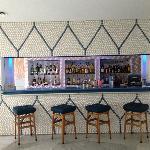 Bar w/ Glazed Pebble Wall