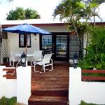 Aruba Beach Villas unit E10 Deluxe ocean-front studio