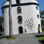 Entrada da Casa de Cultura de Pernambuco