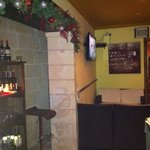 inside from bar
