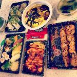 Take away food from Su Sa House