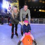 Family on Ice.