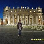 rosalba davanti alla basilica
