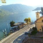 View of Lake Como from Hotel Bazzoni et du La
