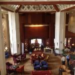 cool lobby (free wifi)