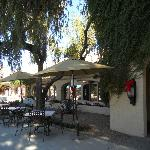 Lovely grounds of 40 acre Scottsdale Plaza Resort