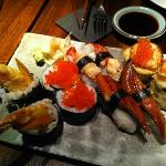 variedad sushi