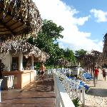 Beach bar at Cayacoa main beach