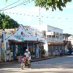 Las Galeras main street