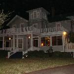 Great nightime pic of the Inn