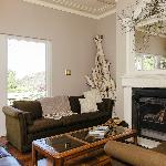 Relax by the Fire - Guest Living Room