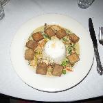 Curried Tofu with Basmati Rice