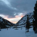 Westward view of Little Cottonwood Canyon