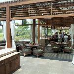 Large opne dining area