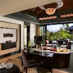 Pool Villa: Living Room