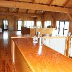 The banquet room / extra tasting room