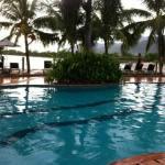 pools side