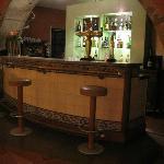 bar de l' hôtel