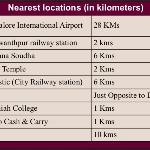 Nearest locations