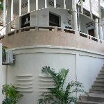 original terrazzo and exterior