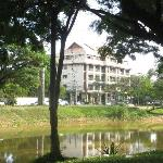 Hotel pic taken from other side of Siem Reap River