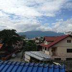 view of Doi Suthep from the balcony