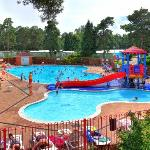 Outdoor Swimming Pool at Parkdean Sandford Holiday Park