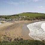 Challaborough Bay Beach at Parkdean Challaborough Bay Holiday Park
