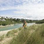Crantcok Beach near Parkdean Crantock Beach Holiday Park