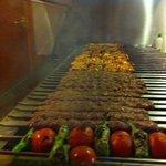 Shiraz char_ coal kebabs