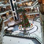 Christmas tree in Cevahir..