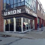 A Photo of the Exterior of Union Pig and Chicken