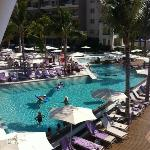Pool view from Oceana