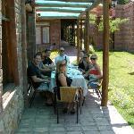 Lunch at Posada El Encuentro